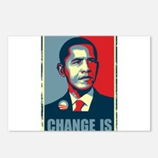 Obama - Change Is Postcards (Package of 8)