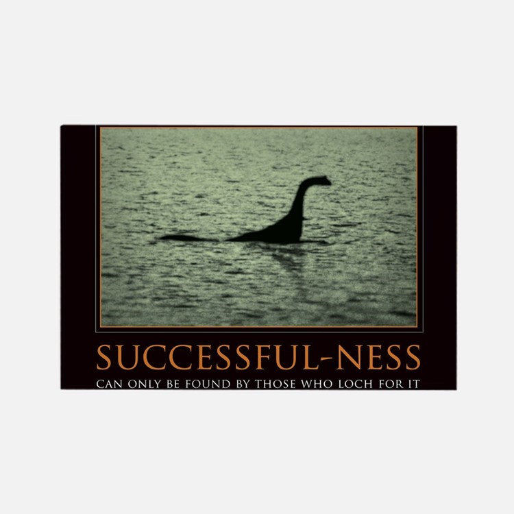 Cute Loch ness monster Rectangle Magnet (10 pack)