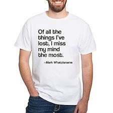 Lost Mind Shirt