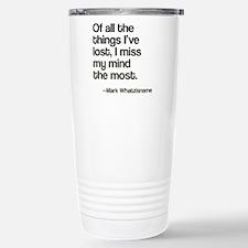 Lost Mind Travel Mug