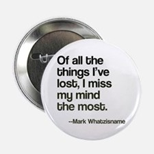 """Lost Mind 2.25"""" Button (10 pack)"""