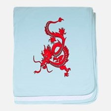 Year of the Dragon - Chinese New Year baby blanket