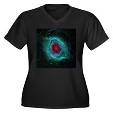 Eye of God (Helix Nebula) Women's Plus Size V-Neck