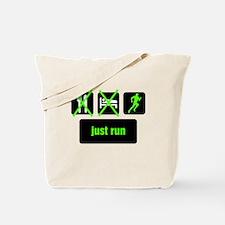 Eat, Sleep, Just Run Tote Bag