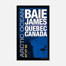 James Bay Quebec Canada Decal