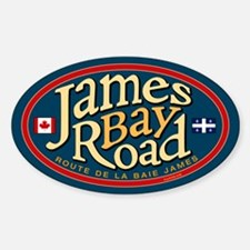 James Bay Road Sticker (Oval)