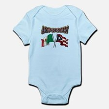 MexiRican Flags Body Suit