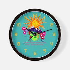 Mommie's Sunshine Wall Clock