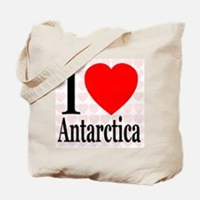 I Love Antarctica Tote Bag