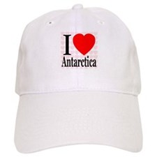 I Love Antarctica Baseball Baseball Cap