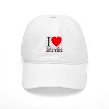 I Love Antarctica Baseball Cap