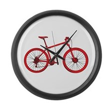 Unique Bicycle Large Wall Clock