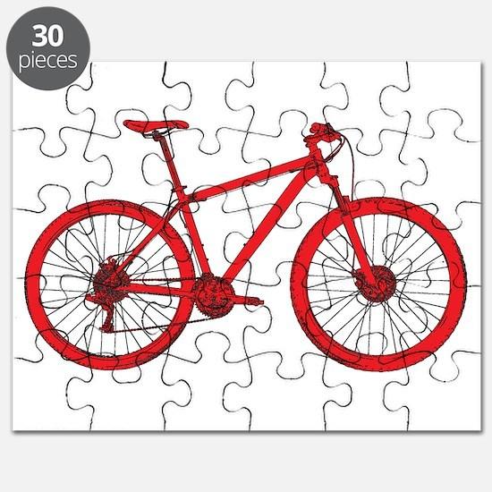 Cute Mountain bike Puzzle