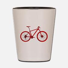 Cool Mountain bike Shot Glass