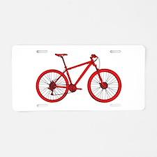 Unique Red cross Aluminum License Plate