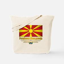 Macedonian Flag Tote Bag