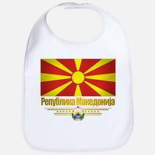 Macedonian Flag Bib