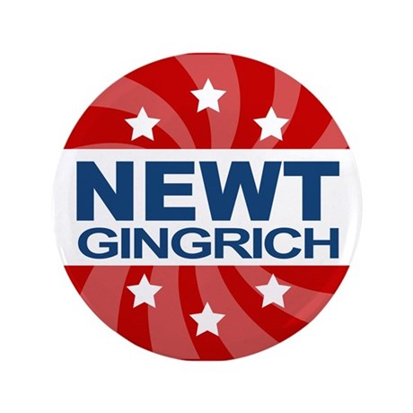 """Toot For Newt 3.5"""" Button"""