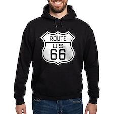 Vintage Route 66 Hoodie