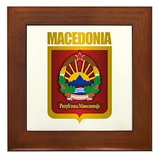 """""""Macedonian Gold"""" Framed Tile"""
