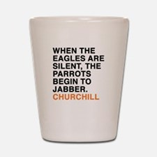 Churchill Shot Glass
