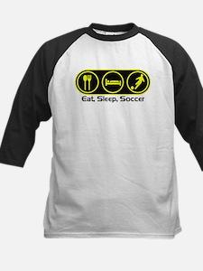 Eat Sleep Soccer 4 Kids Baseball Jersey