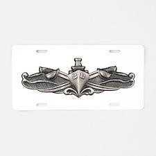 Surface Warfare Specialist Aluminum License Plate