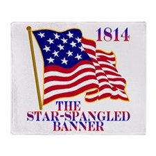 Star-Spangled Banner Throw Blanket