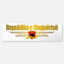 """""""Albanian Pride"""" Sticker (Bumper)"""