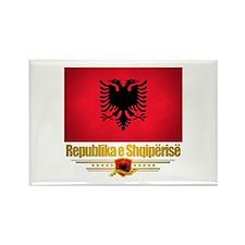 """Albanian Pride"" Rectangle Magnet"
