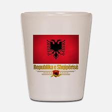 """Albanian Pride"" Shot Glass"