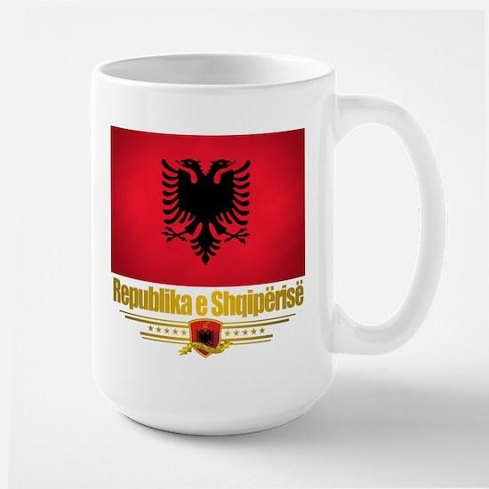 """""""Albanian Pride"""" Large Mug"""
