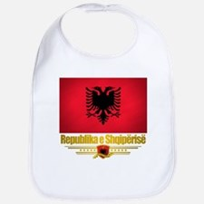 """Albanian Pride"" Bib"