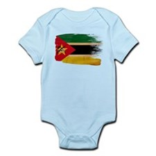 Mozambique Flag Infant Bodysuit