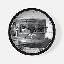 Streetcar 906 Wall Clock