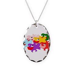 Colorful Fish Desgn Necklace