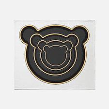 Bear Head Throw Blanket