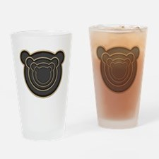 Bear Head Drinking Glass