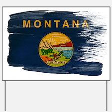 Montana Flag Yard Sign