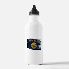 Montana Flag Water Bottle