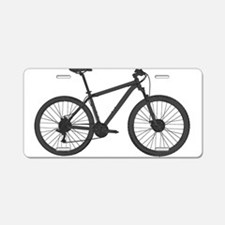 Unique Mountain bike Aluminum License Plate