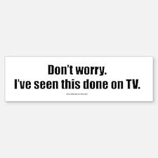 TV TV Gear Bumper Bumper Bumper Sticker