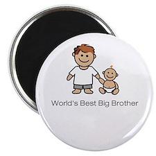 """World's Best Big Brother"" Magnet"