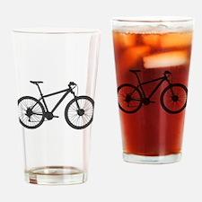 Unique Biking Drinking Glass