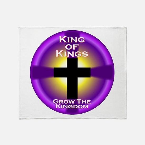 Grow The Kingdom Throw Blanket
