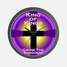 Grow The Kingdom Wall Clock