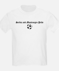 Serbia and Montenegro Pride Kids T-Shirt
