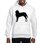Saint Bernard Silhouette Hooded Sweatshirt