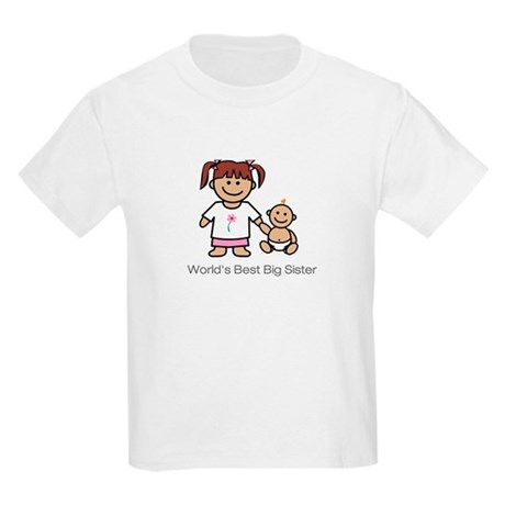 """World's Best Big Sister."" Kids T-Shirt"