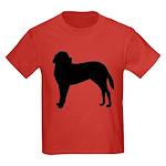 Saint Bernard Silhouette Kids Dark T-Shirt